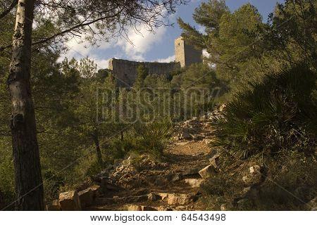 Castillo templario de Santa Magdalena