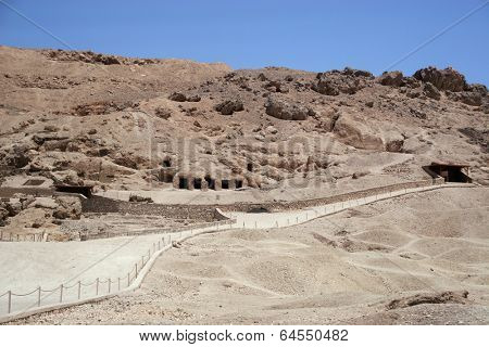 Hatshepsut temple at west bank of Luxor, Egpyt