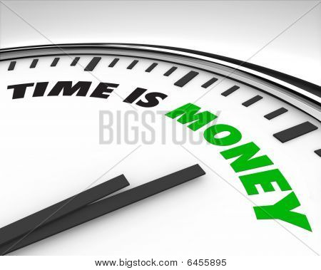 Time Is Money - Clock