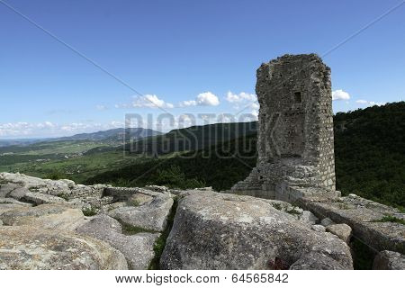 View From Bulgarian Castle And Surroundings