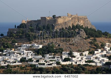 Greek Islands Lindos Castle