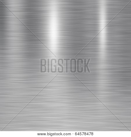 Brushed Steel Plate Texture