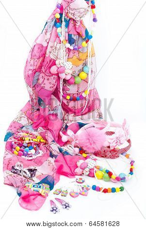 pink fashion accessories for girl