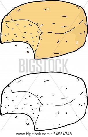 Eaten Biscuit