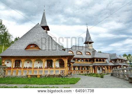 Botiza Wooden Monasteries,Maramures, Romania