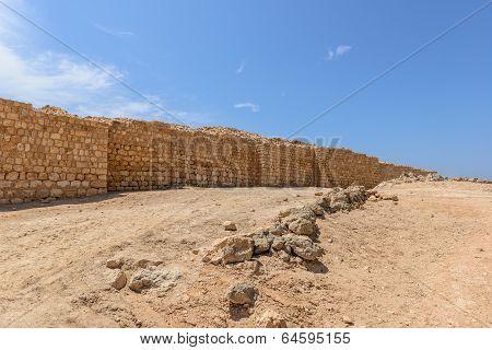 Archaeological Site Of Sumhuram, Near Salalah, Dhofar Region (oman)