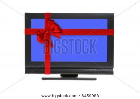 Lcd TV ina a gift