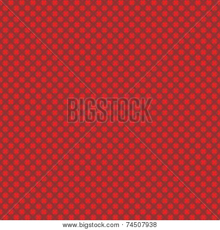 Seamless (easy to repeat) abstract weaved background (texture, pattern, tile, swatch, wallpaper, print) of red Christmas colors poster