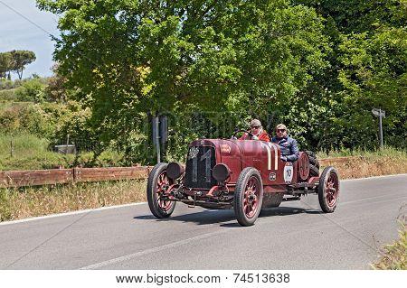 Alfa Romeo G1 (1921) In Mille Miglia 2014