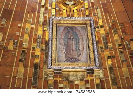Tilma Of Our Lady Of Guadalupe