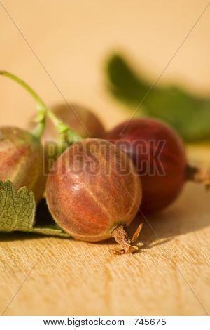 Fresh gooseberries IV