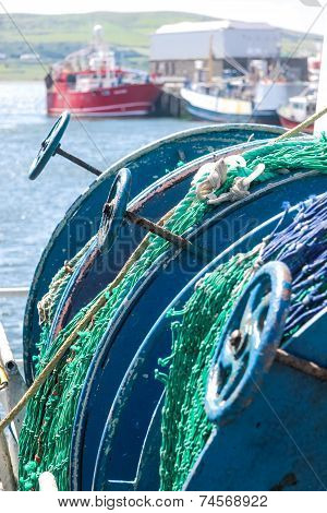 Coiled Fishing Nets