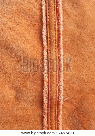 Original Background For Design  In The Form Of A Velours Leather