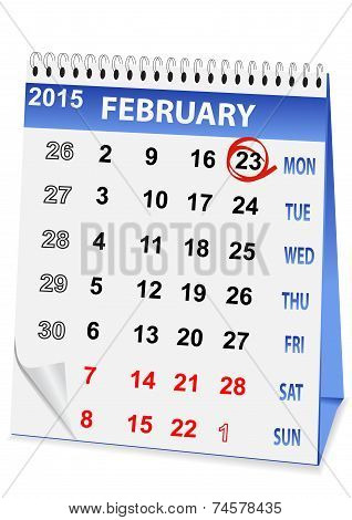Holiday Calendar For 23 February