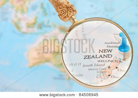 Looking In On Wellington, New Zealand
