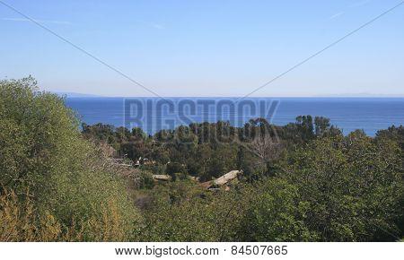 Escondido Canyon Panorama