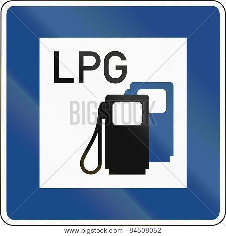 Lpg Gas Station