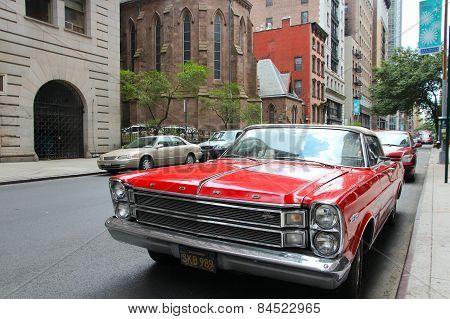 Ford Galaxie Classic Car