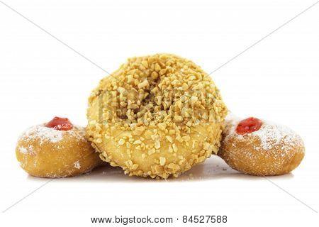 Doughnut Nut And Doughnut Trio