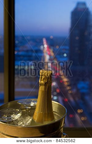 A Romantic Celebration, Champagne with a View