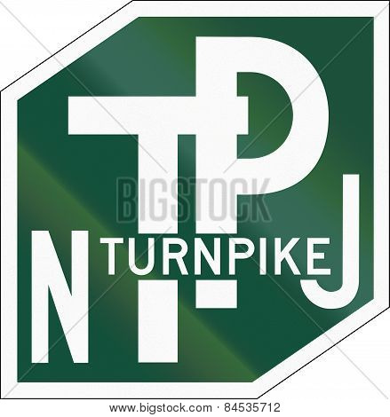 New Jersey Turnpike Shield