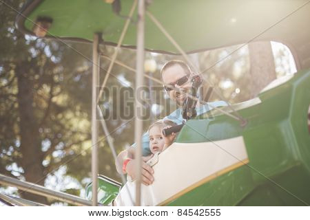 Carnival Airplane Ride