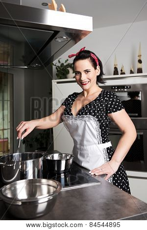 Houswife Cooking