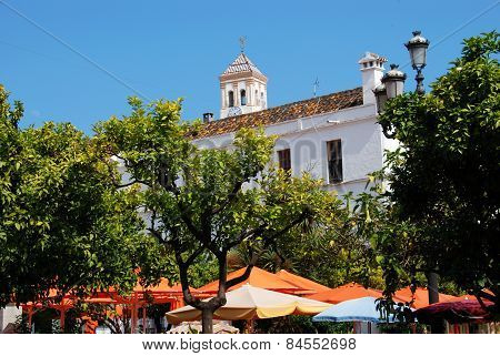 Orange Square, Marbella.