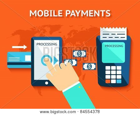 Mobile payments and near field communication, NFC