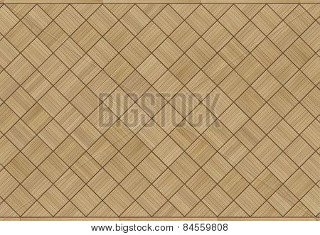 vintage oak parquet floor