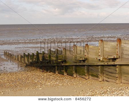 Groynes at Whitstable