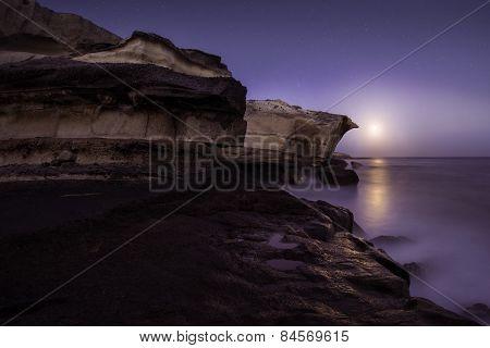 Moonrise, Canary Islands