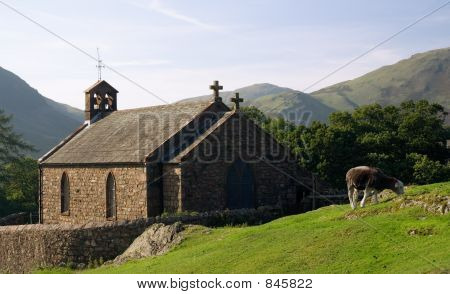 St.James church,Buttermere,Lake district