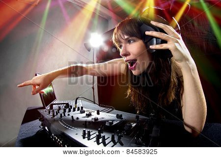 Female Party DJ
