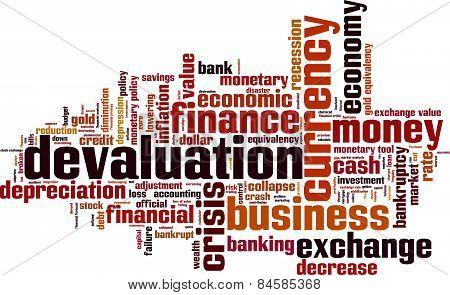 Devaluation Word Cloud