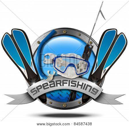 Spearfishing - Metal Icon
