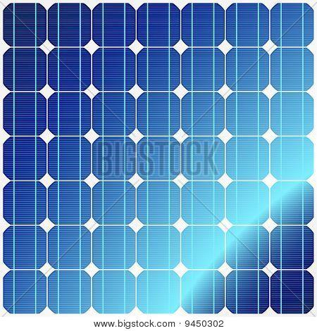 Reflexion in Sonnenkollektoren