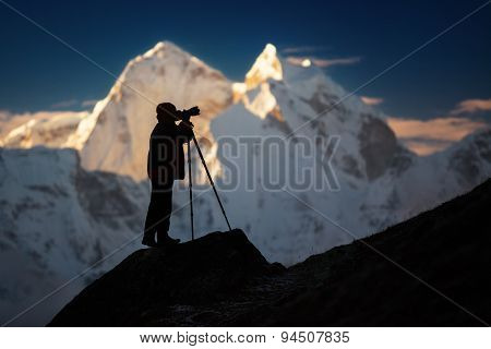 Photographer On The Top