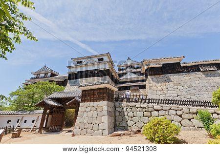 Iyo Matsuyama Castle, Shikoku Island, Japan