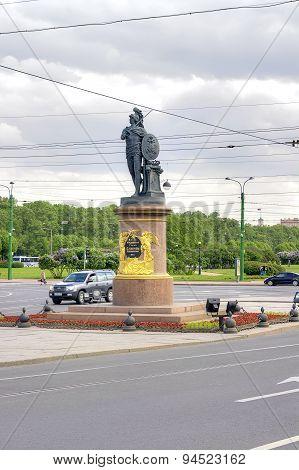 Saint Petersburg. Suvorov Square
