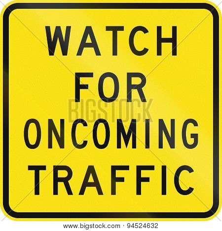 Watch For Oncoming Traffic In Australia