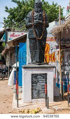 Statue Of Periyar E. V. Ramasamy.