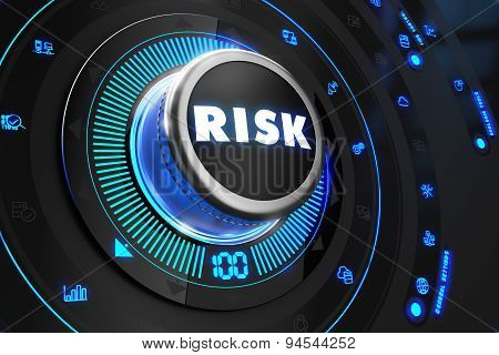 Risk Controller on Black Control Console.
