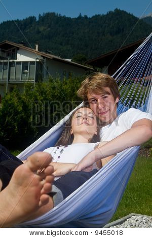 Sunny Afternoon In The Hammock