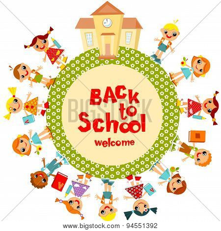 Children's Background. back to school