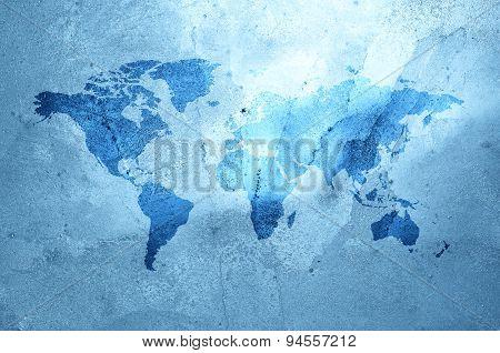 Ice map