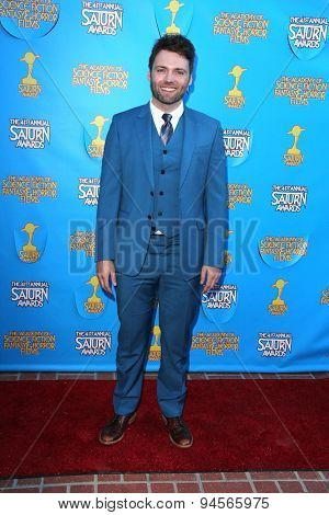 LOS ANGELES - JUN 25:  Seth Gabel at the 41st Annual Saturn Awards Arrivals at the The Castaways on June 25, 2015 in Burbank, CA