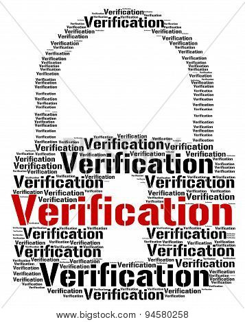 Verification Lock Means Authenticity Guaranteed And Certificated