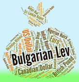 Bulgarian Lev Represents Foreign Exchange And Bgn poster