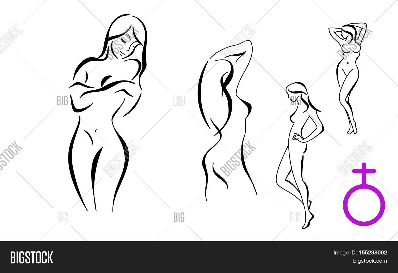 Stylized Female Bodyes Image & Photo (Free Trial)   Bigstock